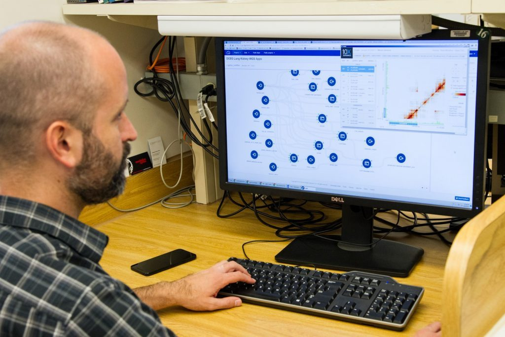 Clinical trails software in use