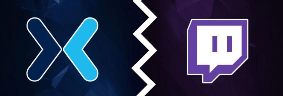 twitch and mixer logos